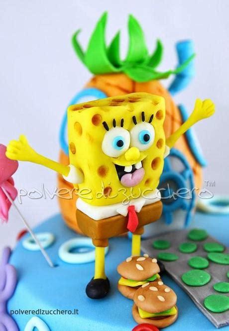 tutorial mattoncini lego in pasta di zucchero spongebob cake torta decorata con sponge patrick