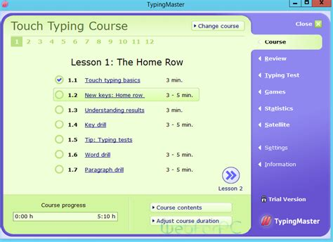 best free typing lessons best typing tutor free version 2017