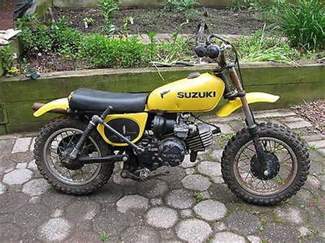 Suzuki Mini Moto Vintage 1978 Suzuki Jr 50 Beginners Motorcycle Mini Bike W