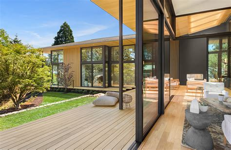 kengo kuma s suteki home in portland encourages outdoor living