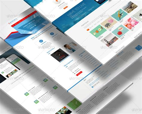 web design mock up sle perspective web mock up by towhid123griver graphicriver