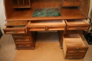 wood top desk solid wood roll top desk antique appraisal instappraisal