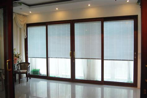 Interior Patio Doors Cr120 Wooden Interior Patio Sliding Doors 5mm 27a 5mm Hollow Glass Sliding Door With Louvers