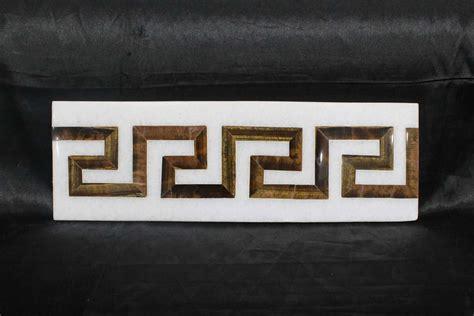 Kitchen Floor Ceramic Tile Design Ideas marble inlay wall tiles greek border design kitchen