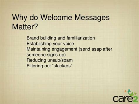 welcome message welcome messages that work