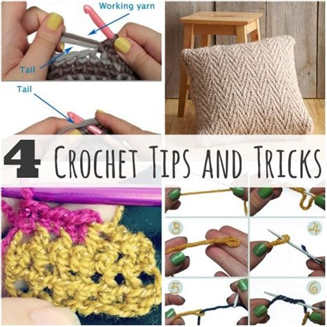 decorating tips and tricks crochet a day 4 fab crochet tips and tricks