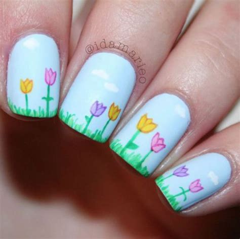 easy nail art spring 20 simple easy spring nails art designs ideas 2017