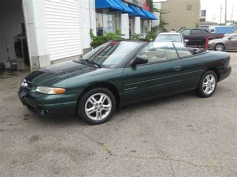 1997 Chrysler Sebring by 1997 Chrysler Sebring For Sale Carsforsale