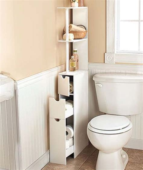 30 Amazingly Diy Small Bathroom Storage Hacks Help You Storage For Small Bathrooms