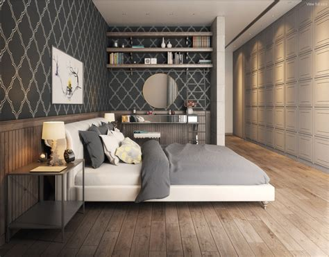 Designer Bedroom Wallpaper Bedroom Wallpaper Designs Interior Design Ideas