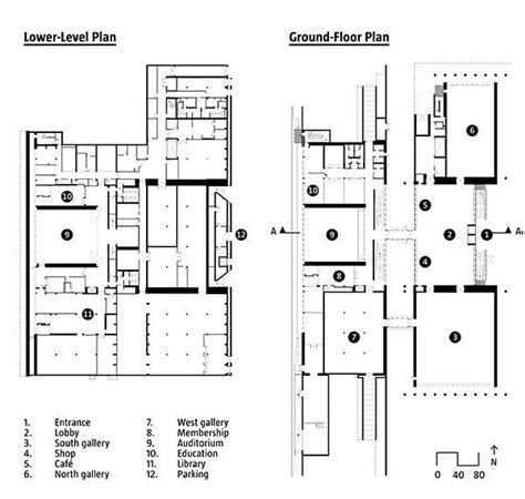 kimbell art museum floor plan the renzo piano pavilion at the kimbell art museum