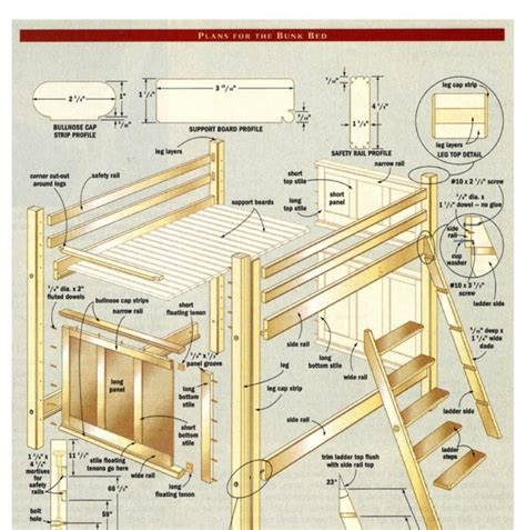 woodworking for mere mortals plans woodworking for mere mortals bunk bed building