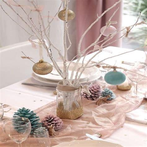 table noel idees decoration reveillon accueil design et