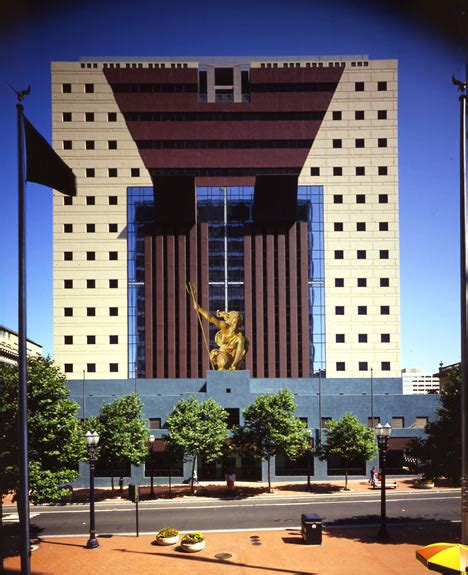 portland architects postmodernism architecture the portland building by