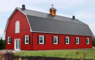 Metal barn style homes so replica houses