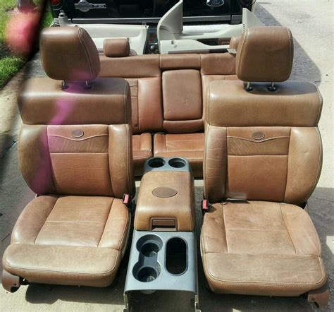 king ranch leather interior ebay