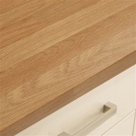 Bar Handles For Kitchen Cabinets Square Edged Laminate Oak Block Effect Worktop Howdens