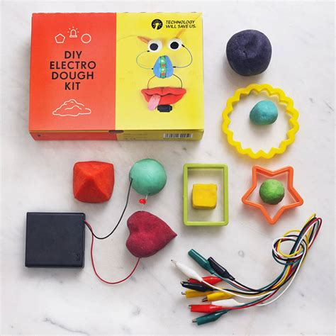 Diy Kit by Diy Electro Dough Kit By Technology Will Save Us Notonthehighstreet Com