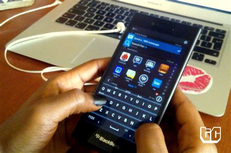 What S The Best Background Check Service Blackberry Leap Review It S Sitting On The Fence Techcabal