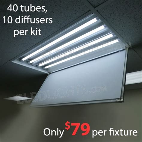 convert lights to led convert fluorescent light fixture to led how to change