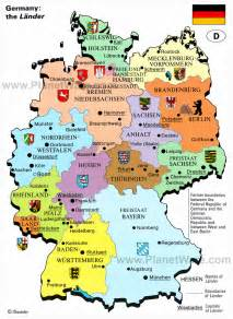 map of germany and cities germany map with cities and states