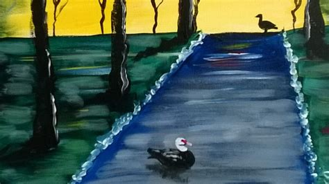 paint with a twist coral springs local business holds fundraiser for duck 187 coral