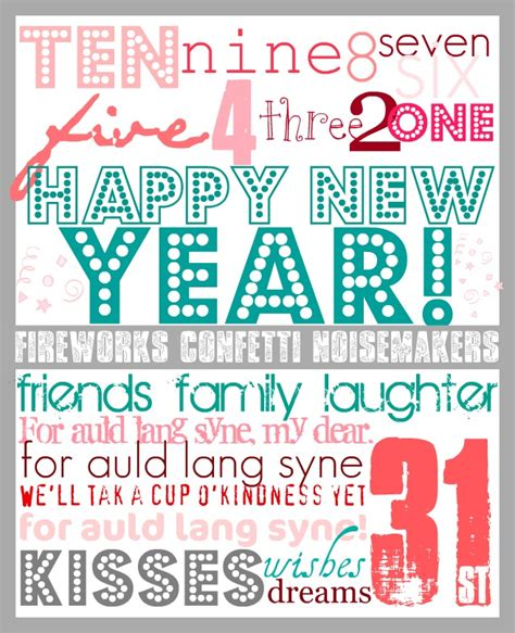 new year printable pictures new year s printable the 36th avenue