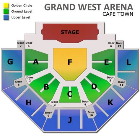 grand arena grand west floor plan michael w smith sa tour 2015 cape town tickets thu may