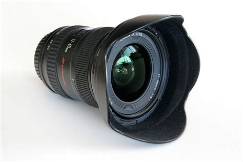 with lenses wide angle lens