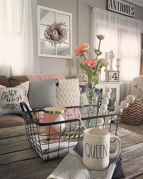 60 rustic farmhouse living room design and decor ideas rustic farmhouse living room design and decor ideas 4