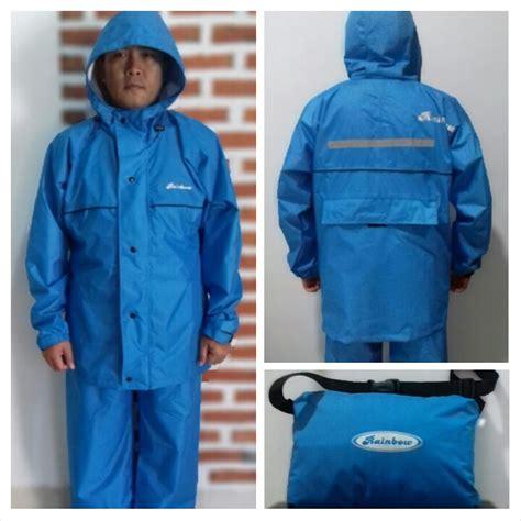 Promo Jas Hujan Merk Asv Khusus Size L Biru Dongker jas hujan rainbow 171 agen distributor jas hujan cibinong bogor