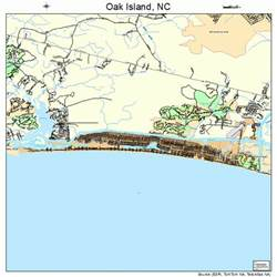 oak island carolina map 3748345