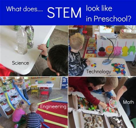 stem classroom projects what does stem look like in preschool and what is stem