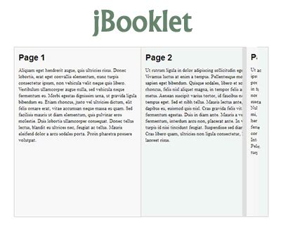 jquery layout animation jbooklet jquery plugin for flipbook layout uicorner