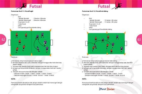 Gawang Futsal 3m buku panduan futsal