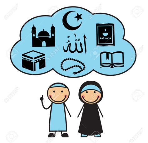 imagenes de simbolos musulmanes islam clipart cartoon pencil and in color islam clipart