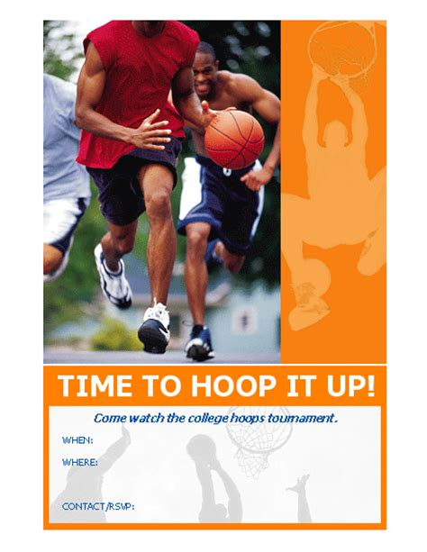 templates for sports flyers 20 best free sports flyer templates demplates
