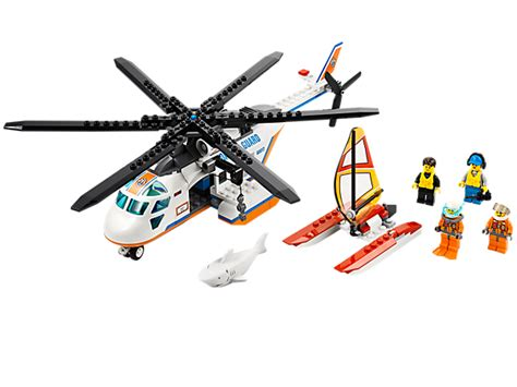 Sale Lego City Sea Helicopter coast guard helicopter lego shop