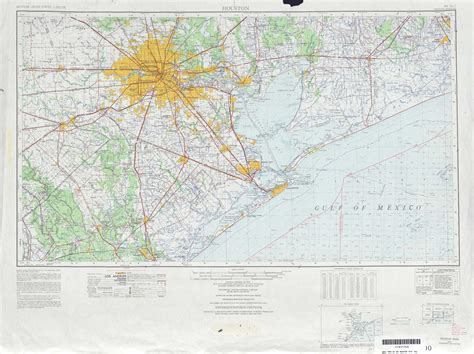 texas topographic map houston topographic maps tx usgs topo 29094a1 at 1 250 000 scale