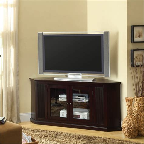 corner unit entertainment centers homesfeed - Corner Entertainment Cabinet