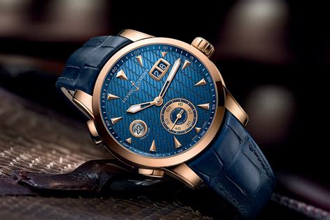 Ulysse Nardi new editions for the ulysse nardin dual time manufacture