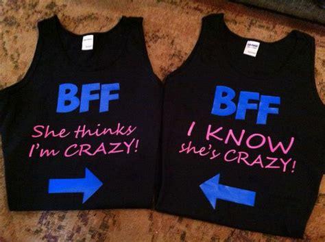 neon set of 2 bff best friends shirts best friend shirts