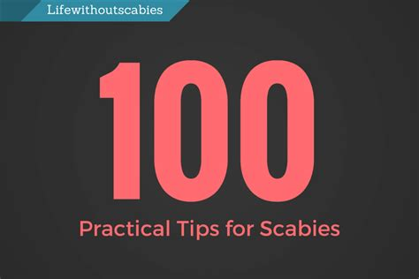 Tips For Healthy While Out 60 Practical Ways To Keep Your Healthy On 100 Practical Tips For Scabies Treatment