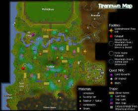 Osrs World Map by Tirannwn Old Runescape Wiki Fandom Powered By Wikia