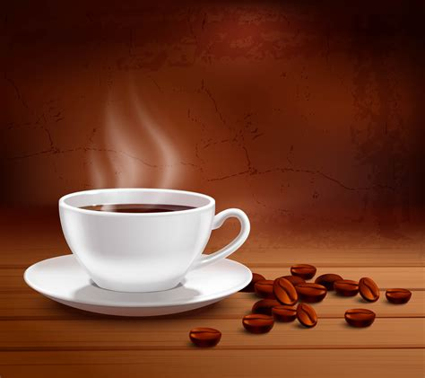 coffee background illustration   vector art
