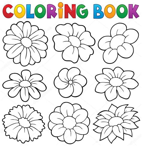 coloring book 33 illustrated drawings of beautiful using patterns swirls flowers and leaves printed on black paper relaxing coloring book for volume 1 books libro para colorear con tema de flores 8 vector de stock