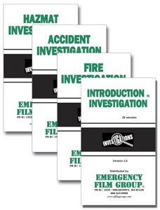 introduction to conducting investigations investigator entry level 02e books investigation series dvd firehall bookstore