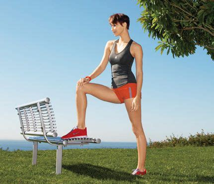 outdoor workout bench 17 best images about outside workouts on pinterest