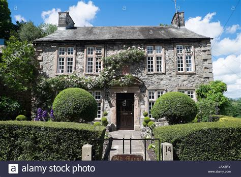buying a grade 2 listed house old manor house grade 2 listed building kirby lonsdale england june stock photo