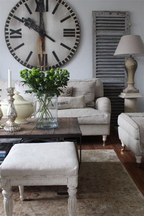 large living room clocks creative ways to decorate above the sofa vintage nest